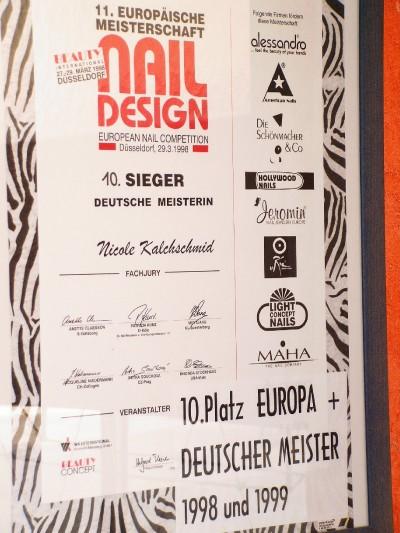Deutscher Meister 1999 und 10.Platz Europa
