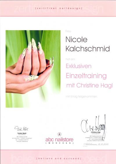 ABC Nailstore Einzeltraining