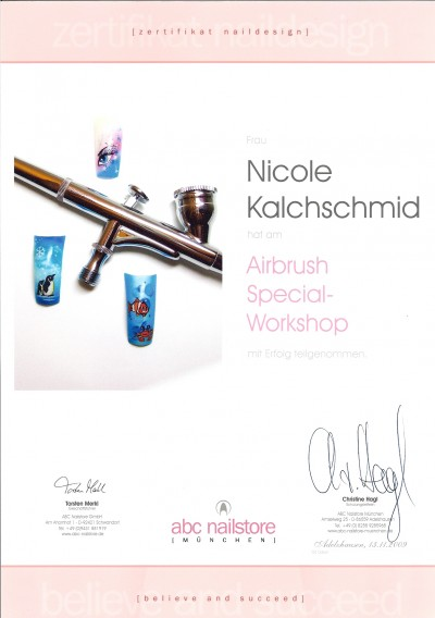 ABC Nailstore Airbrush Schulung