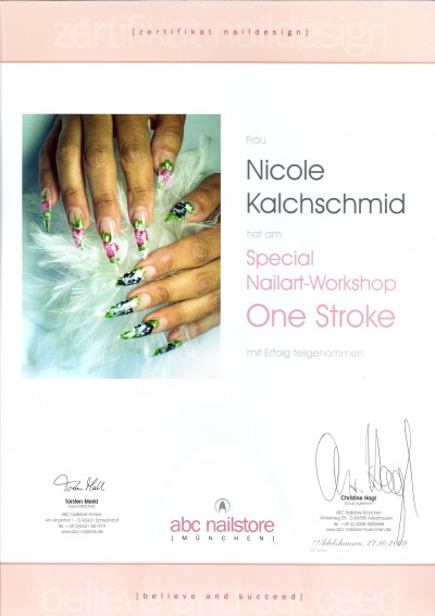 ABC Nailstore Onestroke Schulung