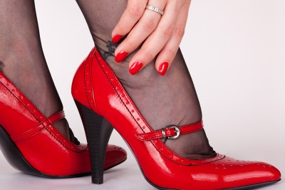 Rot Classic Nails - 50er Jahre rot