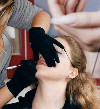 Permanent Make up - Lippen Vorzeichnen