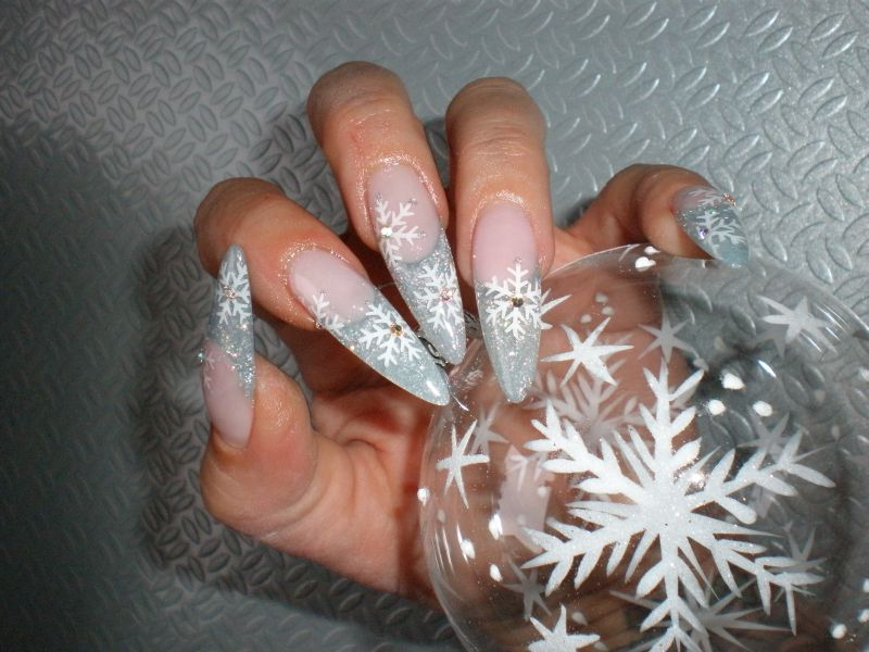 Schneeflocke | Planet Nails – Pimp Nails