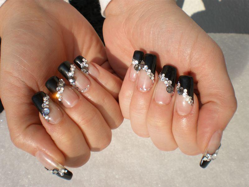 Schwarz Planet Nails Pimp Nails
