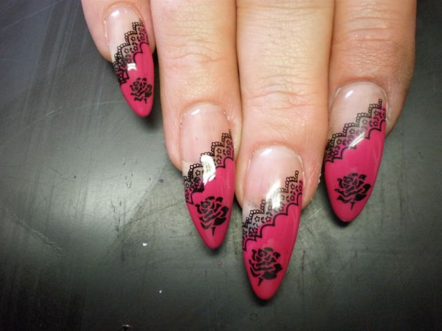 April 2011 planet nails pimp nails for Nailart muster